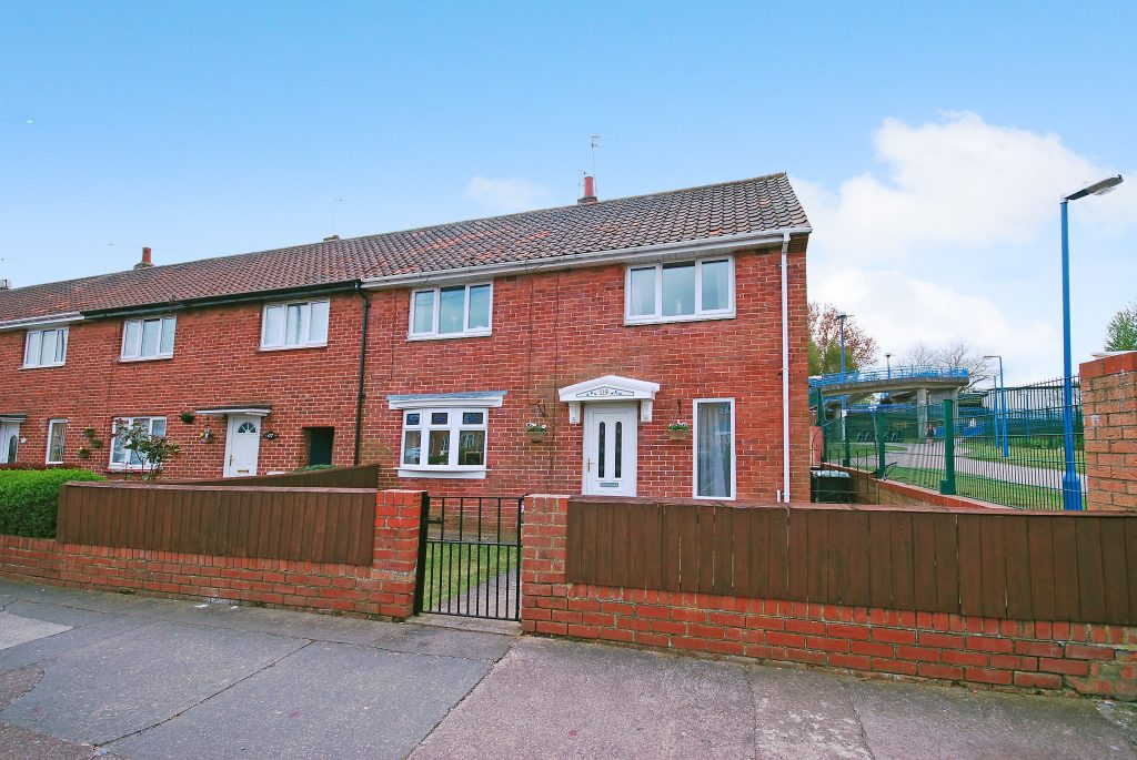 3 BEDROOM END OF TERRACE HOUSE, CHESTERS AVENUE, LONGBENTON