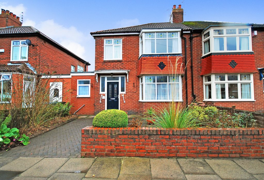 3 BEDROOM SEMI-DETACHED HOUSE, NORTHFIELD ROAD, GOSFORTH