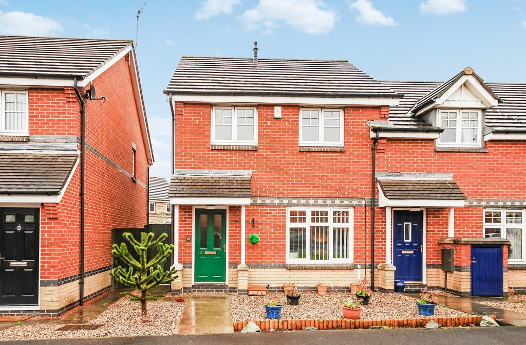 2 BEDROOM END OF TERRACE HOUSE, INGLEBY WAY, BLYTH