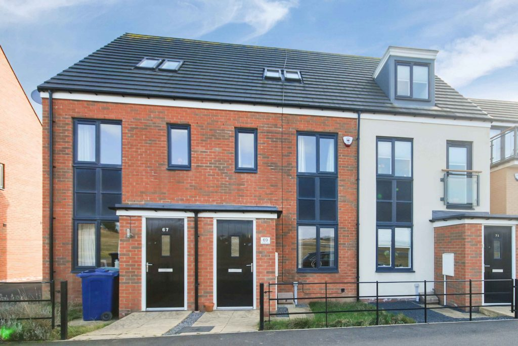 3 Bedroom Terraced Townhouse for sale on Roseden Way, Newcastle Great Park