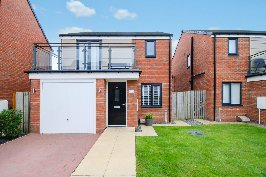 3 BEDROOM DETACHED RUFFORD, LYNEMOUTH WAY, NEWCASTLE GREAT PARK