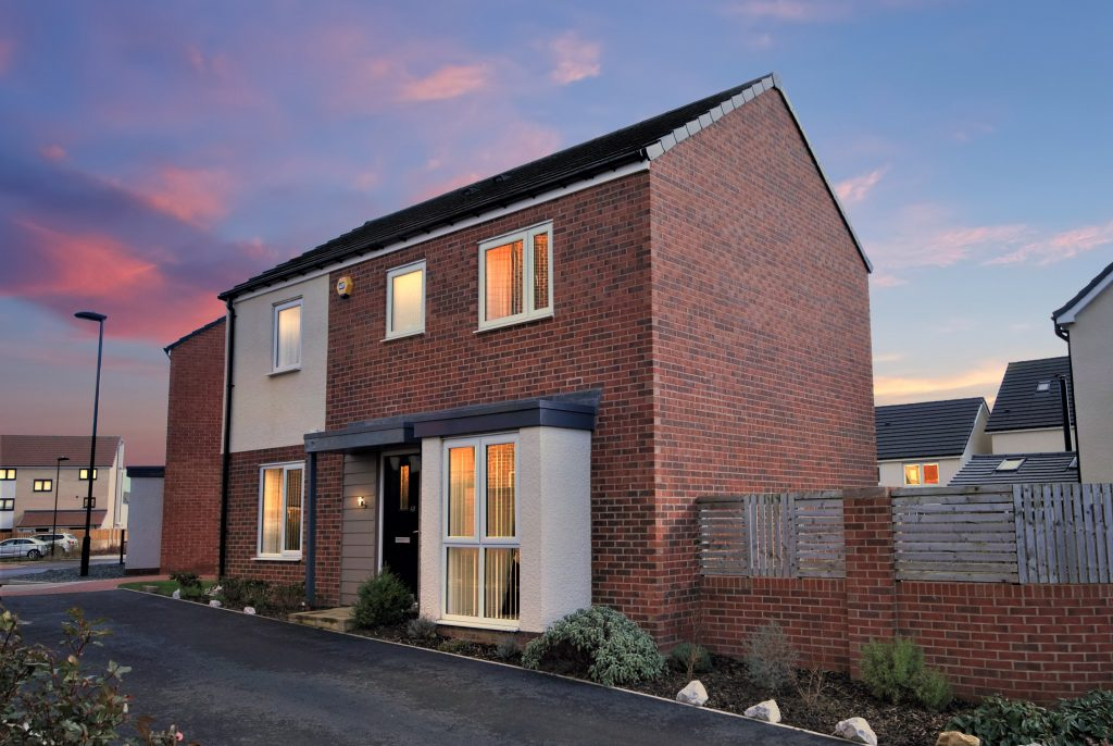 3 Bedroom Detached Property for Sale on Elemore Close, Newcastle Great Park,