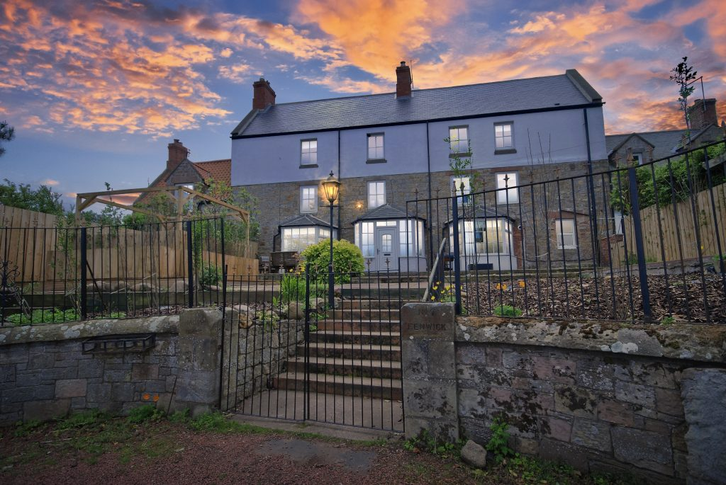 Commercial Opportunity Holiday Home – The Manor House, 7 The Village, Fenwick, Berwick-upon-Tweed, TS15 2PQ