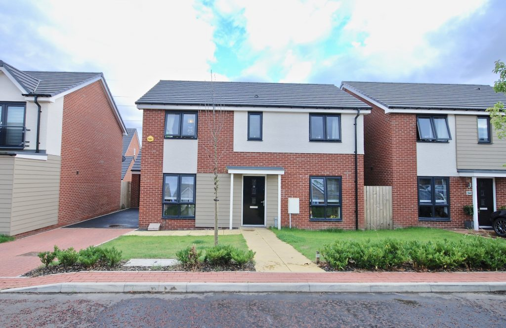 4 Bedroom Detached House for Sale on Bridget Gardens, Newcastle Great Park