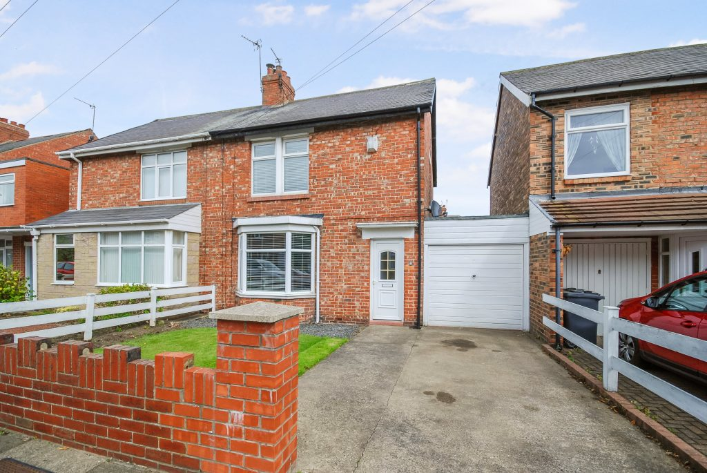 2 Bedroom Semi-detached House for Sale on Greenhaugh Road, South Wellfield, Whitley Bay