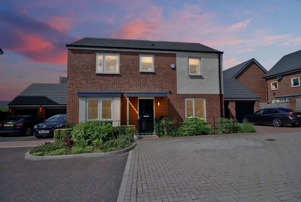 3 Bedroom Detached and Extended House for Sale on Elemore Close, Newcastle Great Park