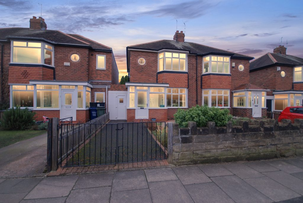 2 Bedroom Semi-detached House for Sale on Ridgewood Gardens, South Gosforth, Newcastle Upon Tyne