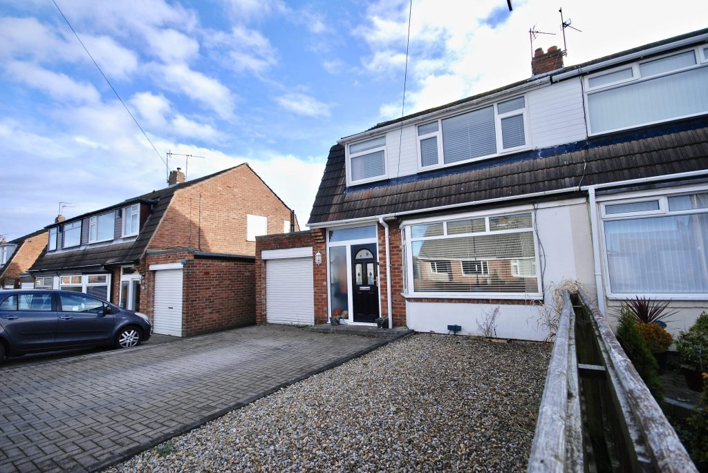 3 Bedroom Semi-detached House for Sale on Caldwell Road, Red House Farm, Newcastle Upon Tyne