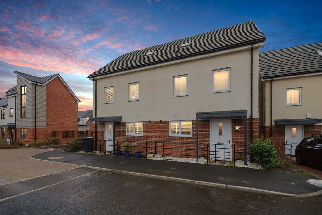 3 Bedroom Town House for Sale on Leasingthorne Way, Newcastle Great Park