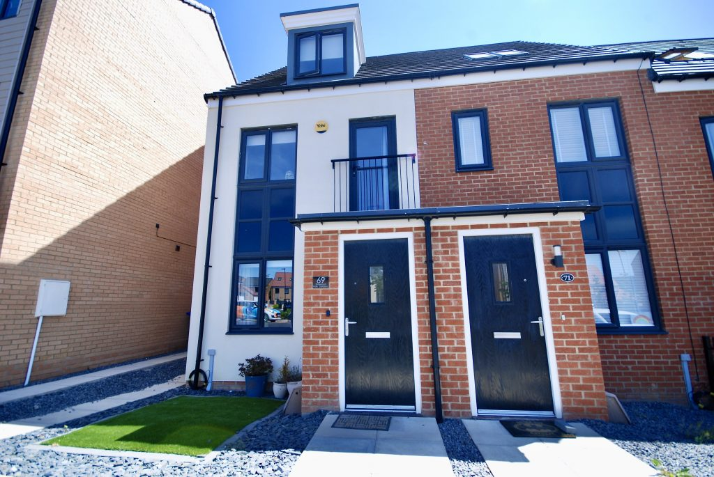 3 Bedroom End of Terrace House to Let on Elmwood Park Gardens, Newcastle Great Park